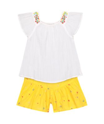 Mothercare Tropical Garden Party Blouse And Must Short Set