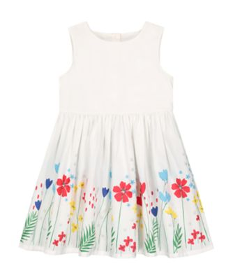 Mothercare Tropical Garden Party Border Print Prom Dress