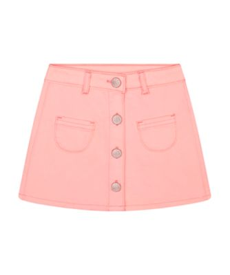 Mothercare Beach Life Pink Denim Button-Up Skirt
