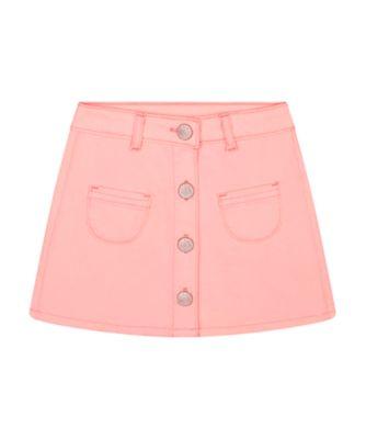 Mothercare Beach Life Pink Denim Button-Up Skirt