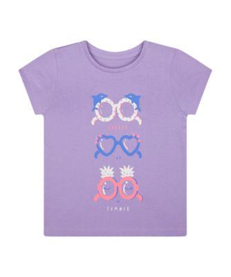 Mothercare Beach Life Sunglasses Summer T-Shirt