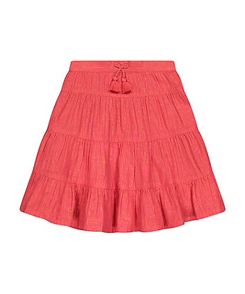 Mothercare Fashion Coral Midi Skirt