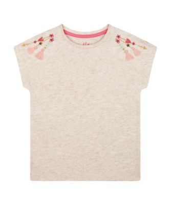 Mothercare Arizona Escape Embroideried Gold Neck T-Shirt