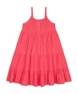 Mothercare Arizona Escape Lurex Strappy Tiered Dress