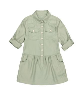 Mothercare Arizona Escape Khaki Shirt Dress