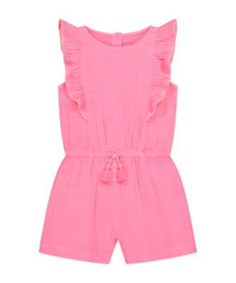 Mothercare Neon Fresh Pink Playsuit