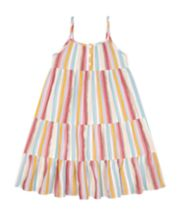Mothercare Striped Woven Dress