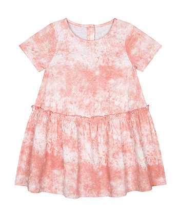Mothercare Pink Tie-Dye Dress