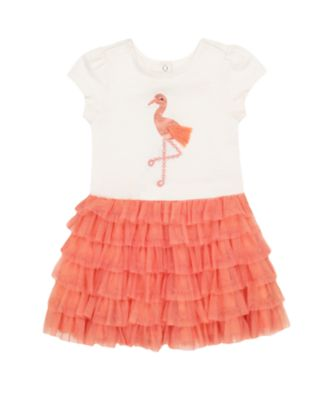 Mothercare Beach Life Flam Mesh Tulle Tutu Twofer Dress
