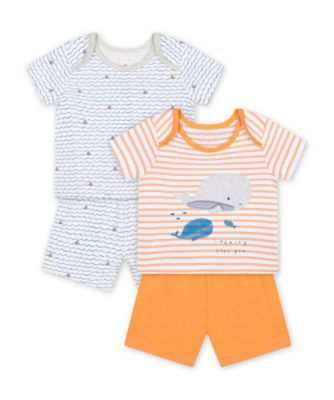 Mothercare Captain Shortie PJ - 2 Pack