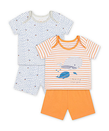 Mothercare Little Captain Shortie Pyjamas