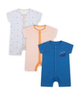 Mothercare Captain Rompers - 3 Pack