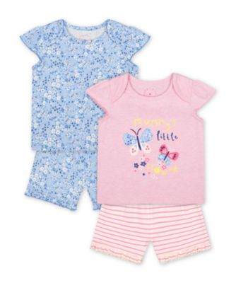 Mothercare Mummy'S Little Flower Shortie Pyjamas - 2 Pack