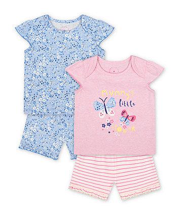 Mothercare Mummy'S Little Flower Shortie Pyjamas