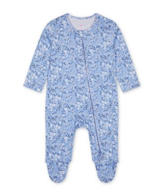 Mothercare Butterfly Zip Sleepsuits