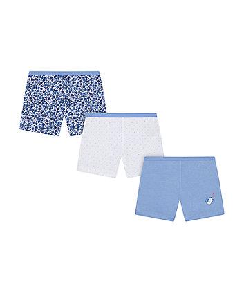 Mothercare Pink Panda Short Briefs - 3 Pack