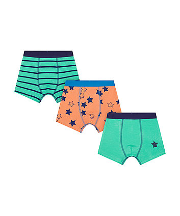 Mothercare Star Trunk Briefs - 3 Pack