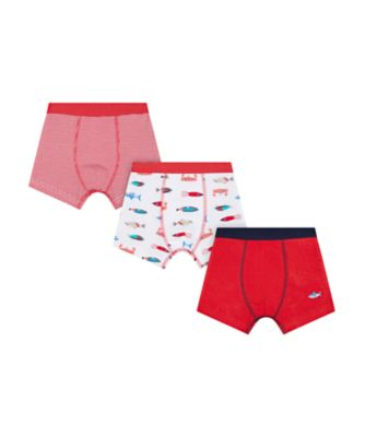 Mothercare Nautical Trunk Briefs - 3 Pack