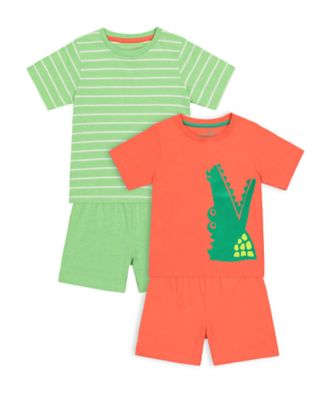 Mothercare Croco Shortie - 2 Pack