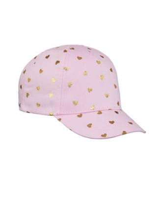 Mothercare Pink Heart Allover Print Hat