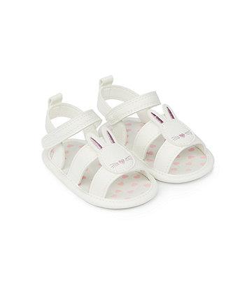 Mothercare Tan Pram Sandals