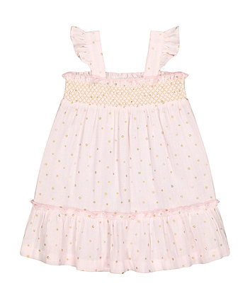 Mothercare Fashion Pink Sparkle Dress