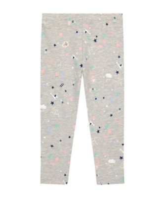 Mothercare Statement Grey Llama Leggings
