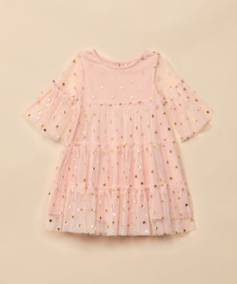 Mothercare Special Collection Pink Star Mesh Dress