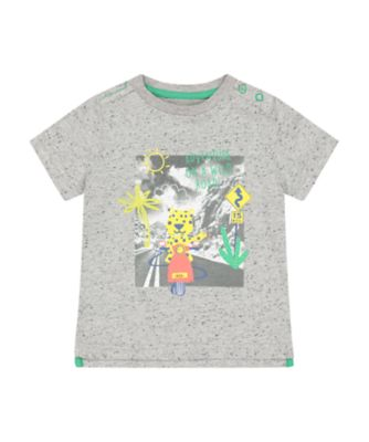 Mothercare Desert Vibes Grey Adventure Short Sleeve T-Shirt