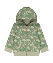 Mothercare Dinosaur Camouflage Hoody
