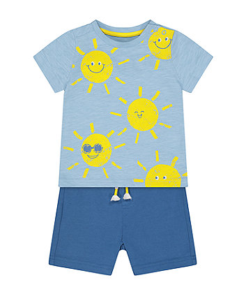 Mothercare Sunshine T-Shirt And Shorts Set