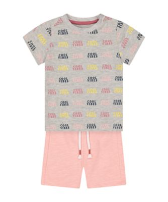 Mothercare Sailing Camp Cool Vibes T-Shirt Promo Set