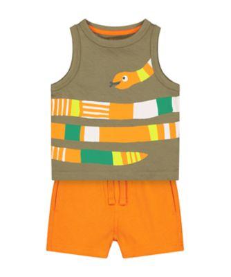 Mothercare Go Croco Snake Vest Promo Vest
