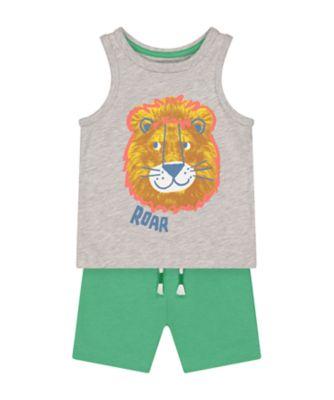 Mothercare Desert Vibes Lion Vest Promo Set