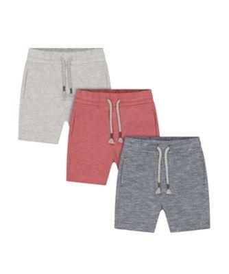 Mothercare Sailing Camp Shorts - 3 Pack