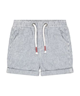 Mothercare Sailing Camp Stripe Roll Up Drawstring Shorts