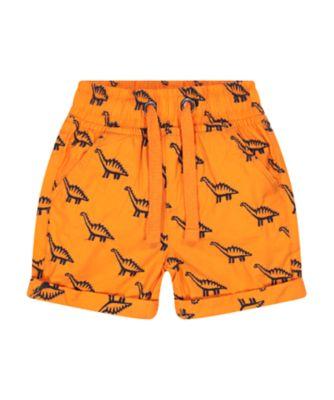 Mothercare Go Croco Allover Print Poplin Shorts