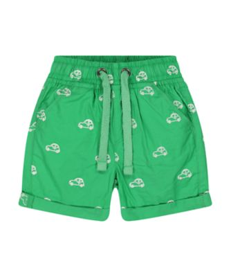 Mothercare Desert Vibes Green Allover Print Poplin Shorts