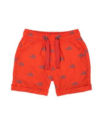 Mothercare Beach Life Pink Allove Print Poplin Shorts