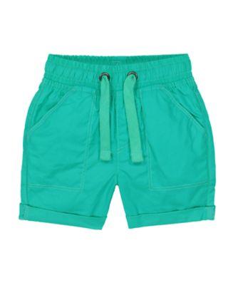 Mothercare Beach Life Aqua Poplin Shorts