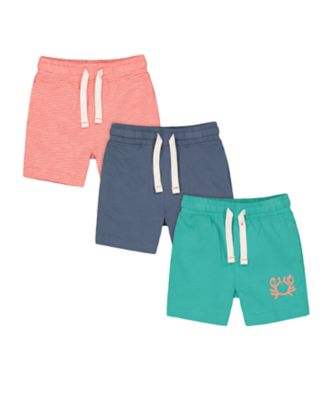 Mothercare Beach Life Shorts - 3 Pack