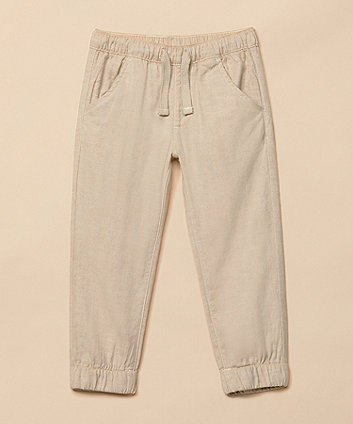 Mothercare Stone Linen Trousers