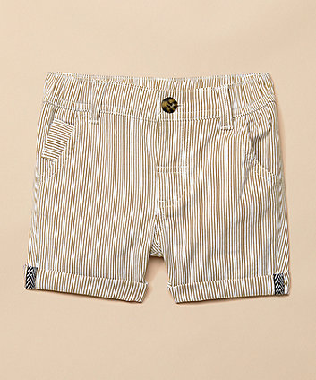 Mothercare Stone Striped Occasion Shorts