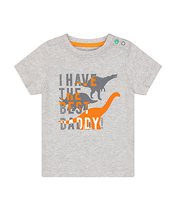Mothercare Fashion Best Daddy Dinosaur T-Shirt