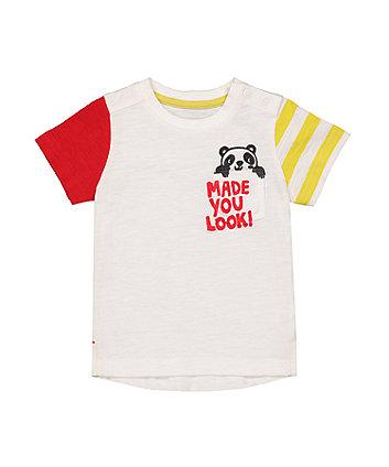 Mothercare Panda T-Shirt