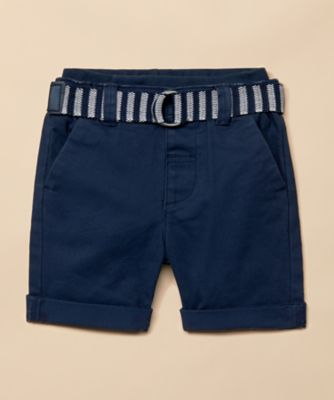 Mothercare Special Collection Twill Shorts With Belt