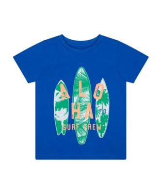 Mothercare Dream Surfer Crew Short Sleeve T-Shirt