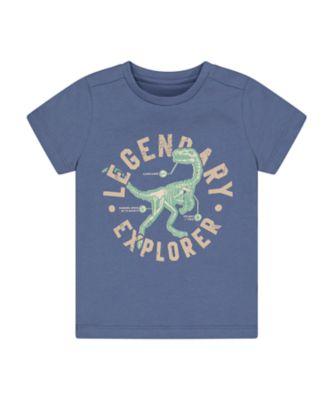 Mothercare Easy Vibes Legendary Dinosaur Short Sleeve T-Shirt