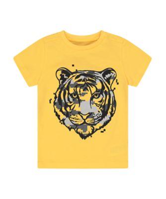 Mothercare Urban Tropics Yellow Tiger Short Sleeve T-Shirt