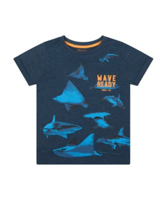 Mothercare Dream Surfer Wave Ready Short Sleeve T-Shirt